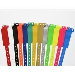 Bracelet événementiel ECOPASS vinyle extra large sans impression