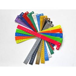 """Bracelet ECOPASS Vinyle fin """"L"""" 19 mm imprimé"""