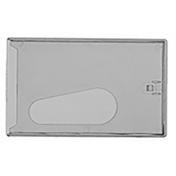 Frosted card case