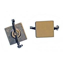Rotating adhesive pin