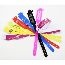 Bracelet ECOPASS vinyle large imprimé