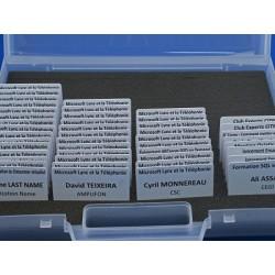 Transparent plastic case to...