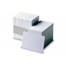 Carte vierge blanche 86x54 - 75/100ème