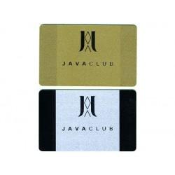 Carte PVC Or ou Argent