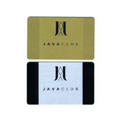 PVC Gold or Silver card