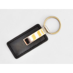 Leather RFID key ring