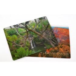 Carte postale lenticulaire 3D
