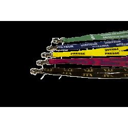 Porte Badge Translucide étanche Vertical