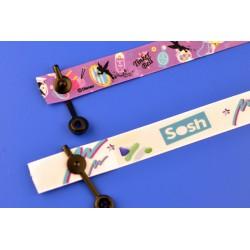 Bracelet Satin'Pass sécurisé usage unique clip