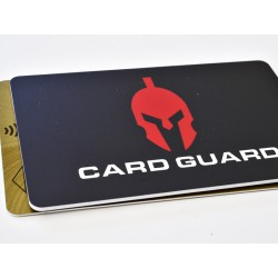 Carte bloqueur RFID protection des données personnalisable