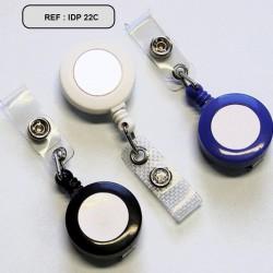 Zip Reel round metal clip