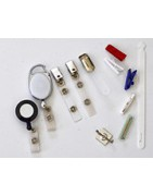 Clips and adhesive fasteners